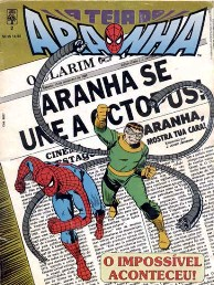 A TEIA DO ARANHA n°002 - EDITORA ABRIL